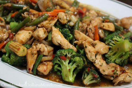 A Lighter Version of General Tsos Chicken recipe
