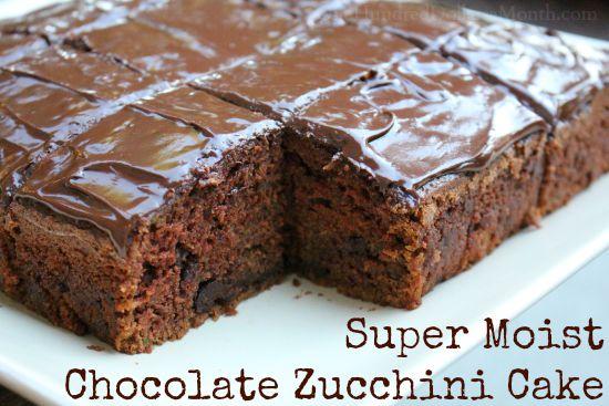 Super Moist Chocolate Zucchini Cake - One Hundred Dollars ...
