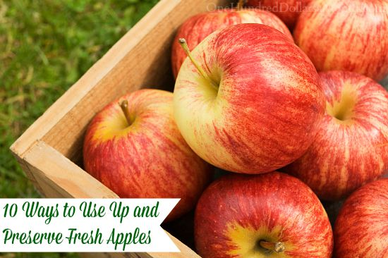 10 Ways to Use Up and Preserve Fresh Apples