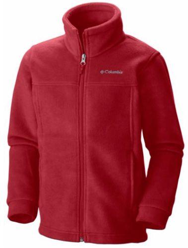 columbia red fleece
