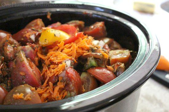 crock pot tomato sauce