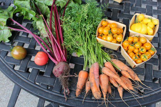 heirloom garden vegetables