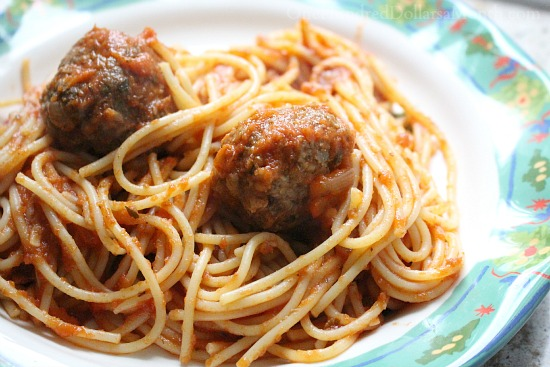 Spaghetti with Vodka Cream Tomato Sauce
