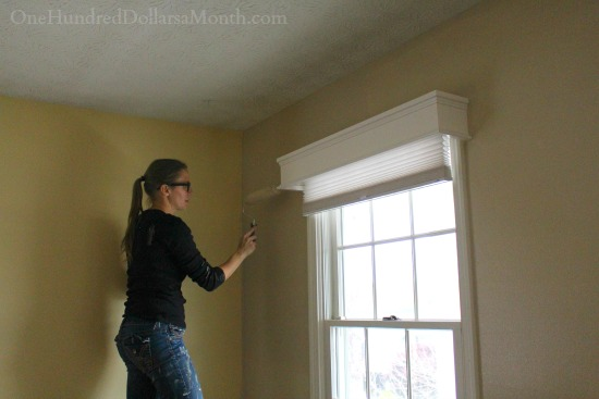 How To Paint Interior Walls Or Undoing The Bad Choices Of Previous Owners One Hundred Dollars