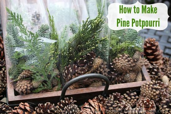How to Make Pine Potpourri