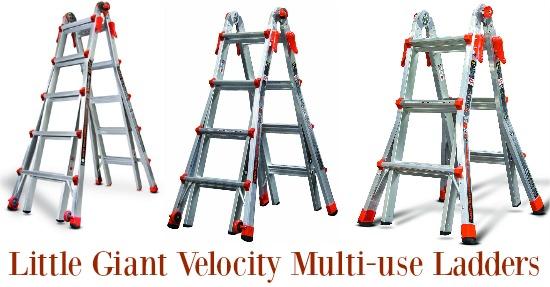 Little Giant Velocity Ladders