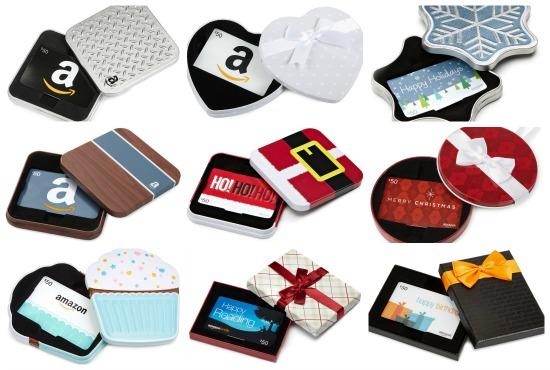 amazon gift card tins