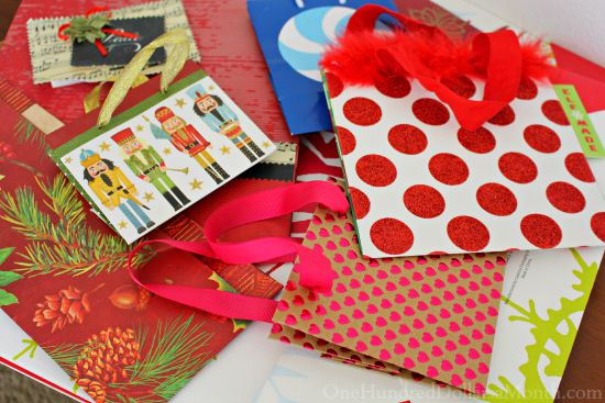 gift wrap bags  wrapping paper