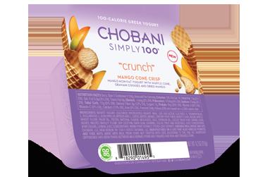 Chobani Simply 100 Crunch Yogurt