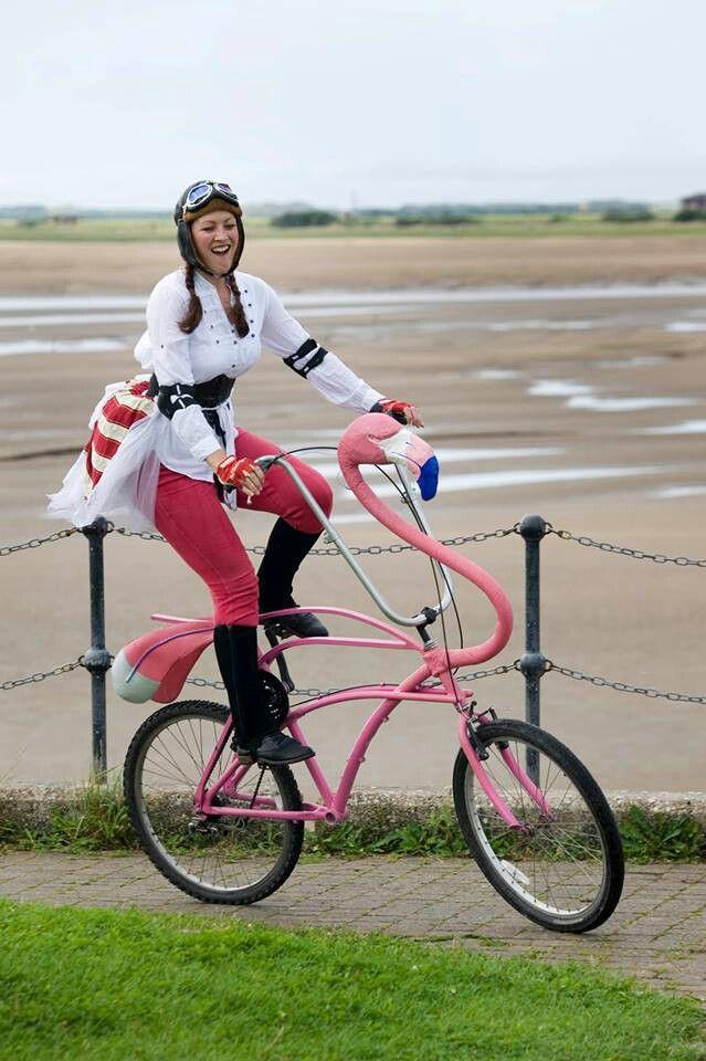 flamingo bike