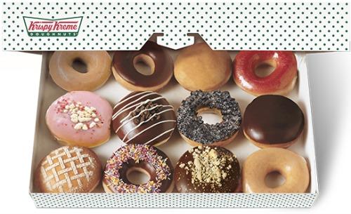 krispie kreme free doughnuts