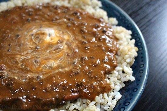 Creamy Spiced Red Beans and Lentils