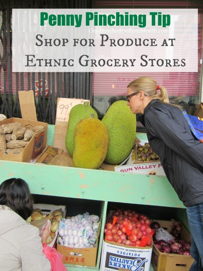Penny Pinching Tip - Shop for Produce at Ethnic Grocery Stores