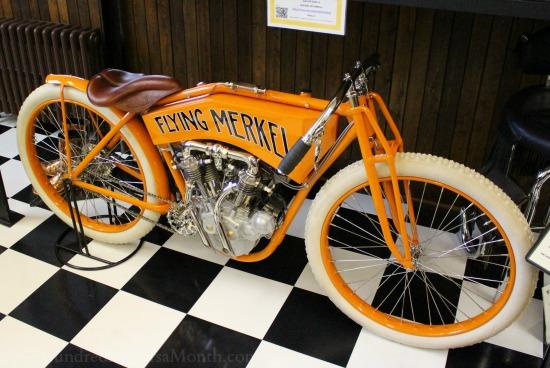 flying merkel bike