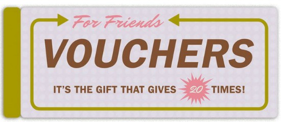 knock knock gift vouchers for friends