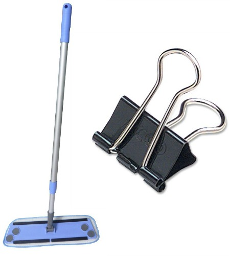 Zwipes Microfiber Cleaning Flat Mop