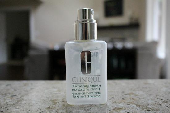 clinique lotion bottle