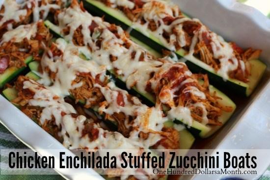 chicken-enchilada-stuffed-zucchini-boats